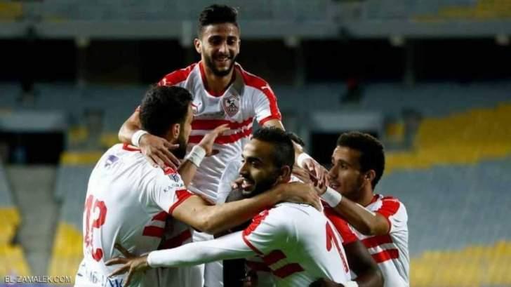 الزمالك يفوز على المصري ويبتعد في صدارة الدوري
