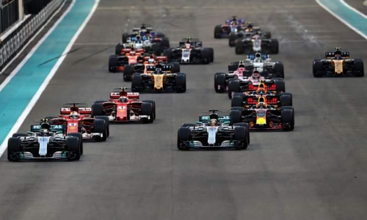 إنخفاض نسبة التخطيات في الفورمولا 1 بشكل كبير في 2017