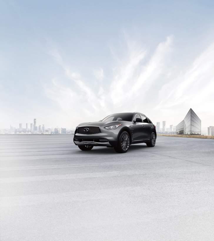 إنفينيتي تعلن عن توفر الطراز المحدود من سيارتها QX70 في أسواق الشرق الأوسط