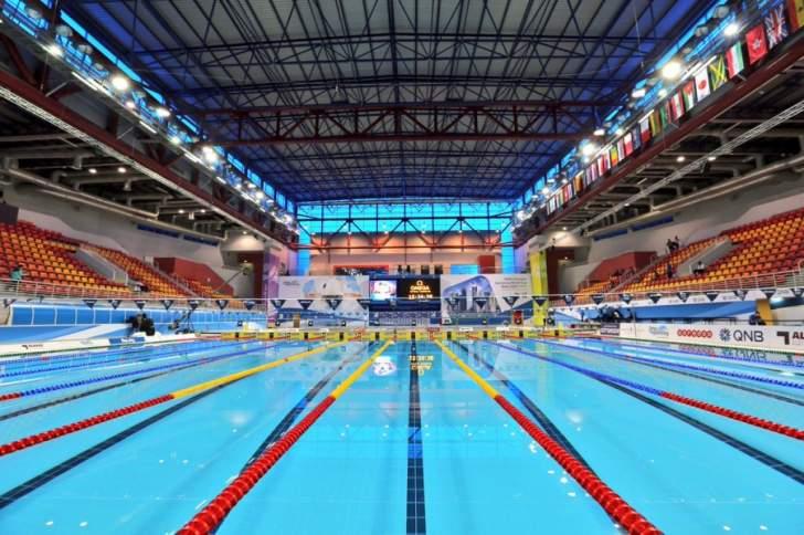اكتمال الترتيبات في الدوحة لاستضافة كأس العالم للسباحة