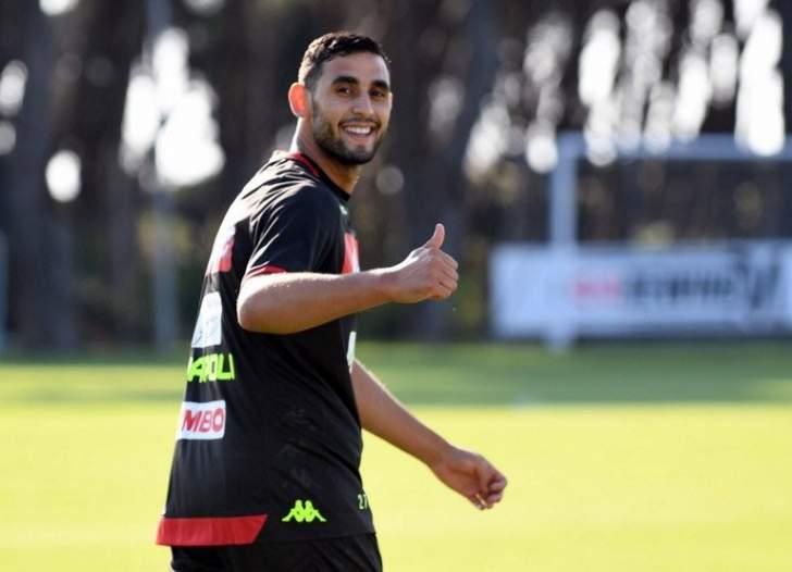 لاعب نابولي يعود للتدريبات