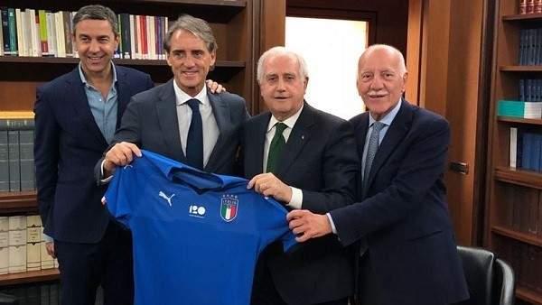 رسميا مانشيني مدربا لمنتخب ايطاليا