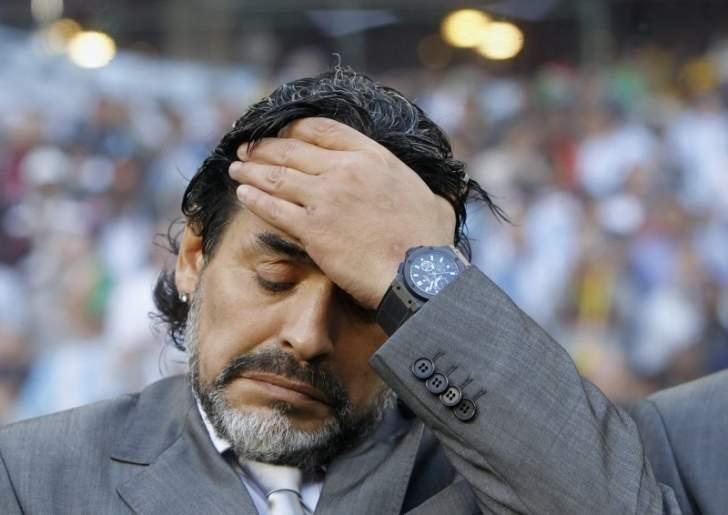 مارادونا: أشعر بالحزن لمشاهدة المونديال من دون إيطاليا