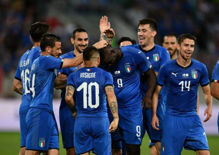 ما هي الارقام التي تحققت في مباراة ايطاليا والسعودية؟