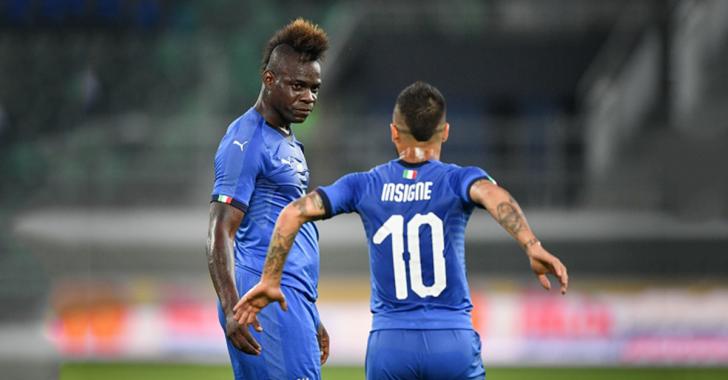 لمن اهدى بالوتيلي هدفه مع المنتخب الايطالي ؟