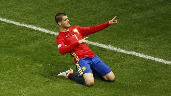 المنتخب الاسباني يستعد للتصفيات بغياب موراتا