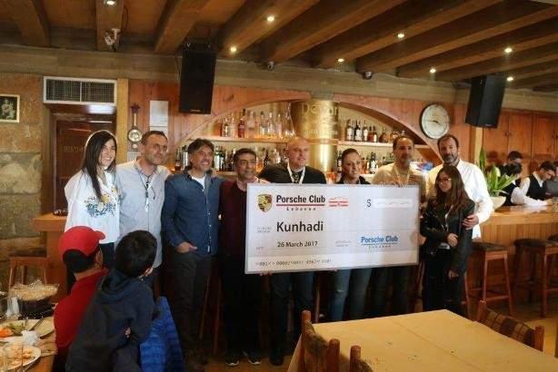 نادي بورش كلوب لبنان يعلن دعم مؤسسة كن هادي
