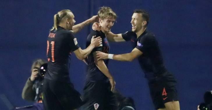 دوري الامم الاوروبي :اهداف مباراة اسبانيا وكرواتيا