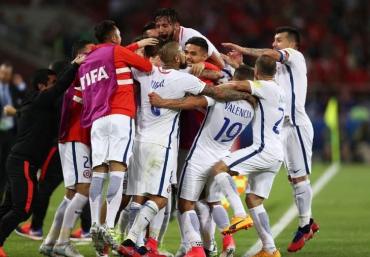 تشيلي تحقق الفوز على الكاميرون بمساعدة فيدال وفارغاس