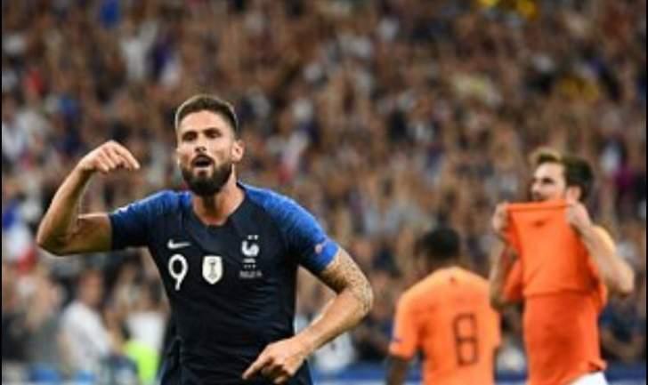 دوري الامم الاوروبية: فرنسا تهزم هولندا وخسارة مؤلمة لويلز ونجمها بايل