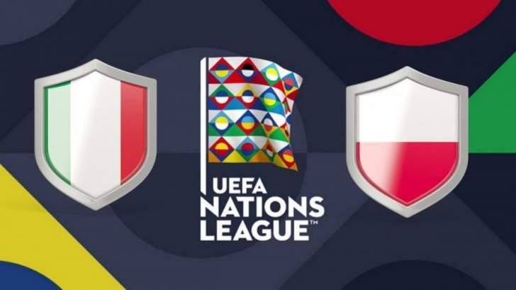 تشكيلة مباراة إيطاليا وبولندا في دوري الأمم الأوروبية
