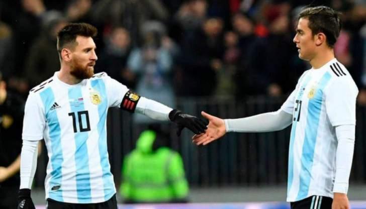 ديبالا يغيب عن معسكر المنتخب الارجنتيني