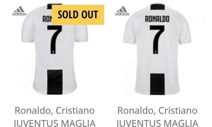 نفاذ قمصان كريستيانو رونالدو مع تزايد الطلب عليه