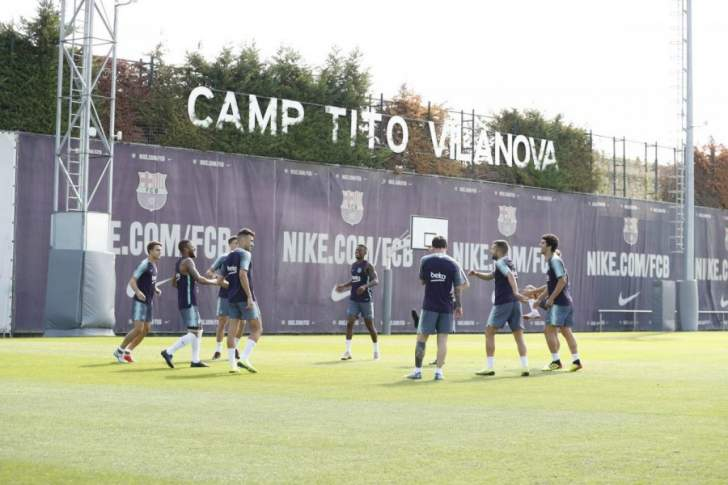 برشلونة يخوض تدريبه الاخير وسط غياب الدوليين