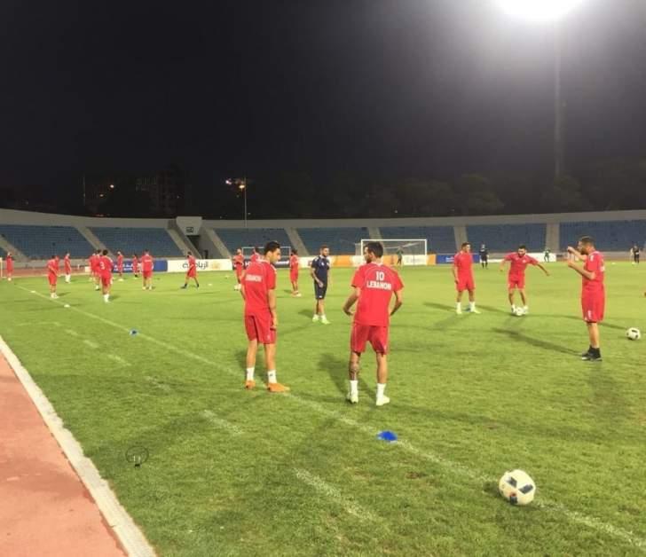 لبنان يواصل استعداداته لمواجهة سلطنة عمان