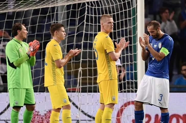 ماذا حصل في الدقيقة 43 خلال مباراة إيطاليا وأوكرانيا ؟