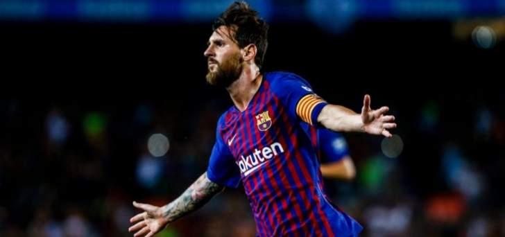 ميسي يواصل كتابة التاريخ مع برشلونة ويقودهم للفوز على ديبورتيفو الفيش