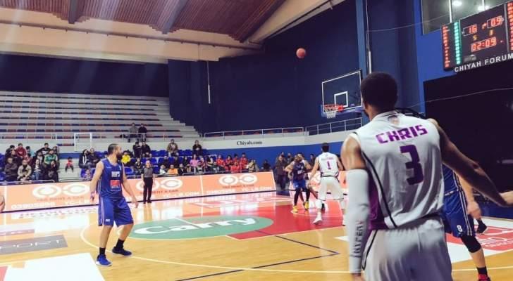 خاص: هوبس الاكثر تسجيلا بعد نهاية المرحلة السادسة من بطولة لبنان لكرة السلة