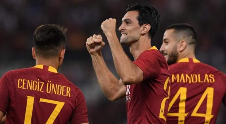 غياب مؤثر لروما عن مواجهة ريال مدريد