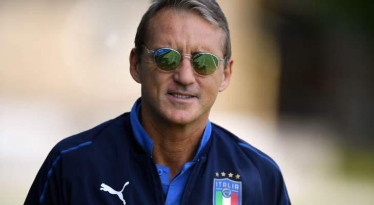 مانشيني يجدّد عقده مع إيطاليا حتّى عام 2022
