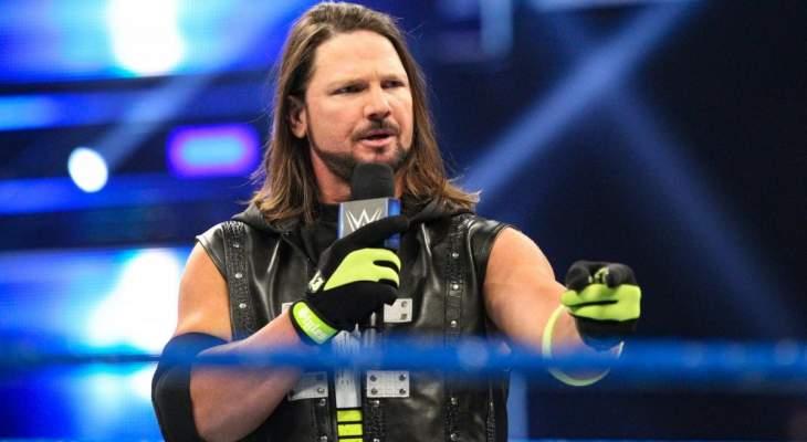 """""""ستايلز"""" يوقع عقده الأخير مع WWE"""