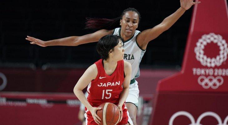 سيدات اليابان لكرة السلة في الدور الربع نهائي من طوكيو 2020