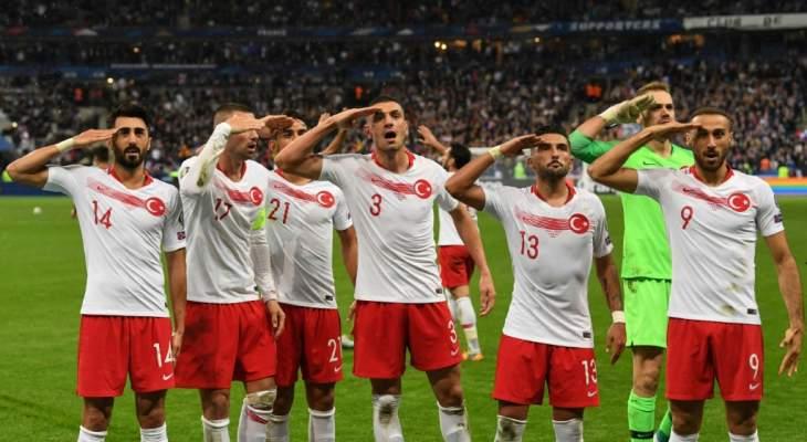 الرئيس رجب طيب اردوغان  يتهجم على الاتحاد الاوروبي لكرة القدم