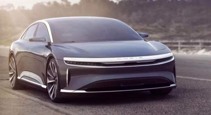 لوسيد موتورز تقترب من إطلاق سيارة كهربائية جديدة