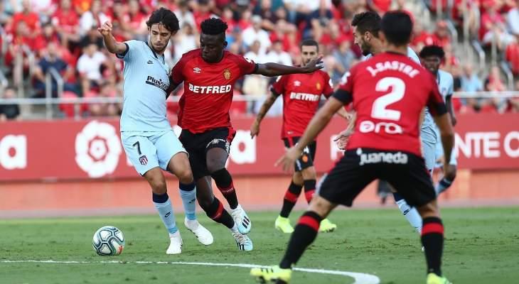 الدوري الإسباني: اتلتيكو مدريد يتصدر مؤقتا وتعادل ليغانيس وبلباو