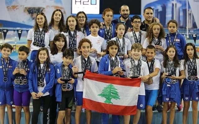 انجاز جديد لنادي النجاح للسباحة في قطر