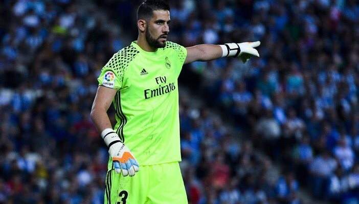 نيوكاسل يضع عينه على كاسيا حارس ريال مدريد