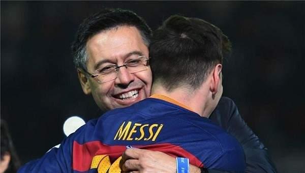 رئيس نادي برشلونة: ميسي مستمر هنا حتى الإعتزال