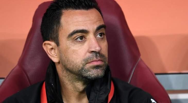 تشافي: يجب على برشلونة اسعاد ميسي