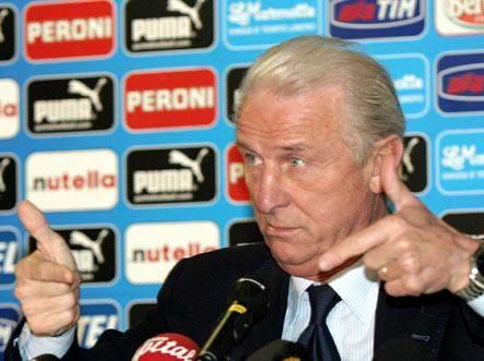 تراباتوني يحدد قائمته الاولية لبطولة اوروبا 2012