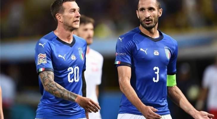 كيليني:المنتخب الايطالي سيظهر بصورة مختلفة امام البرتغال