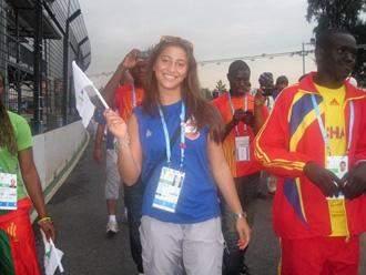 """كارين شماس تكذب الاسرائيليين وتكشف لموقعنا حقيقة """"حادثة"""" الاولمبياد"""