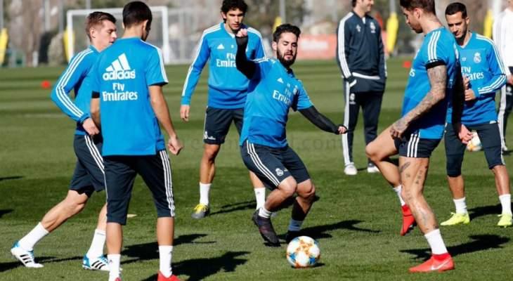 ريال مدريد يستعد لكلاسيكو الليغا بعد خيبة الكأس