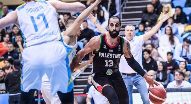 التصفيات الآسيوية: منتخب فلسطين يخسر بفارق ثلاث نقاط أمام كازاخستان
