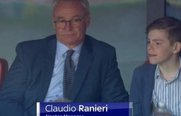 جماهير ارسنال قلقة بعد رؤية الايطالي رانييري في لقاء الارسنال