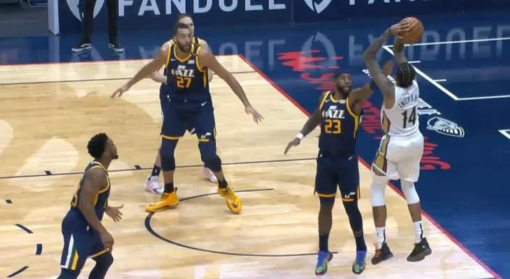 NBA: بيليكانز يهزم المتصدر يوتا جاز