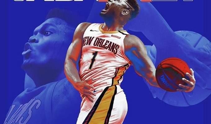زايون ويليامسون ينضم الى نجوم غلاف NBA 2K21