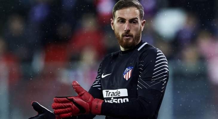 أوبلاك يرفض محادثات عقد جديد مع أتلتيكو مدريد