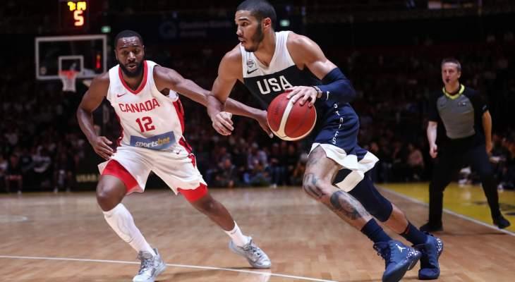 الولايات المتحدة تستعيد نفس الانتصارات بفوز ودي على كندا