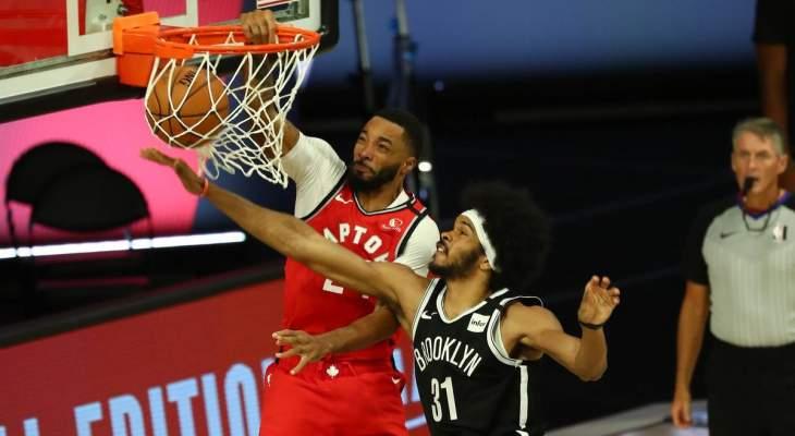 NBA: تورونتو يحسم السلسلة امام بروكلين ويتأهل