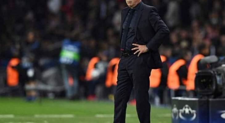 انشيلوتي: جايمس سيستمر في ريال مدريد
