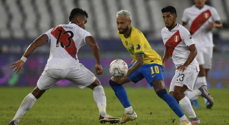 مجريات مباراة البرازيل وبيرو في كوبا اميركا