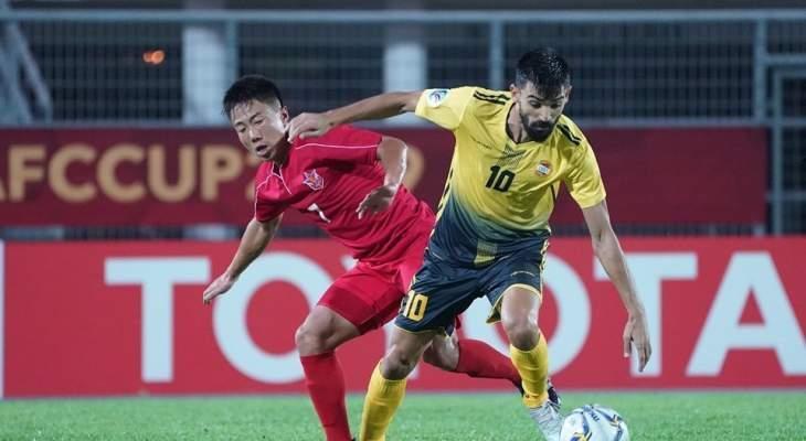 العهد يتوج بلقب كأس الاتحاد الاسيوي للمرة الاولى