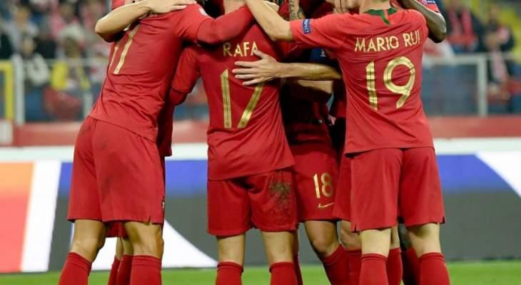 دوري الامم الاوروبية: البرتغال تتفوق على بولندا وفوز صربيا ورومانيا