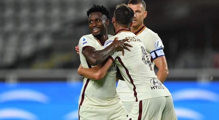 اهداف مباراة روما وتورينو في الدوري الايطالي