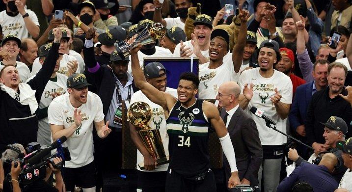 NBA : ميلووكي باكس يصنع التاريخ ويتوج بلقبه الاول منذ 50 عاما